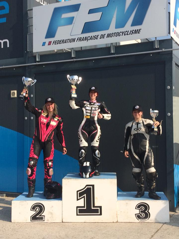 3e manche Women's Cup 2018 : podium finale B