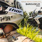 Equipement moto : la tenue complète baroudeur