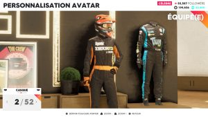 The Crew 2 - personnalisation personnage