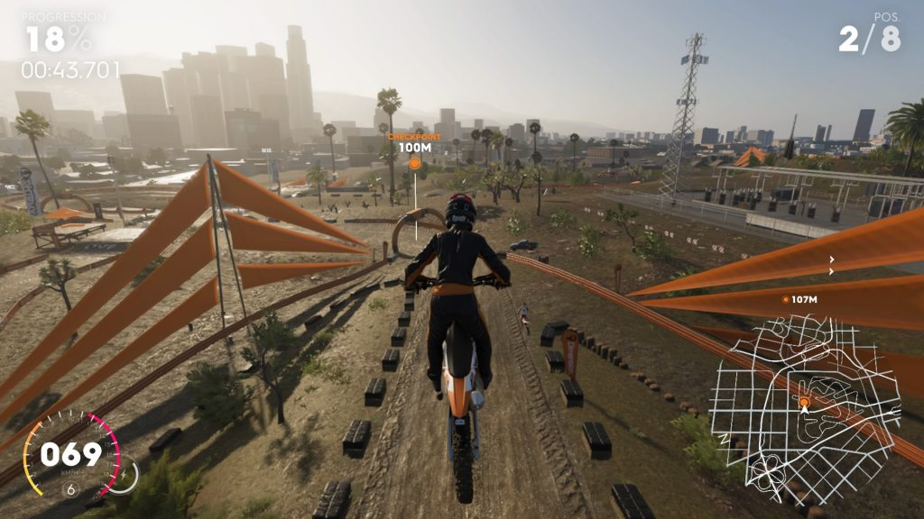 The Crew 2 - course motocross
