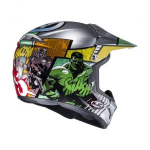 casque cross enfant HJC CL-XY II Avengers Marvel