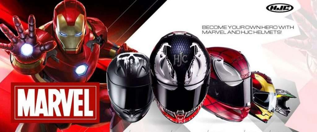 casques HJC Marvel