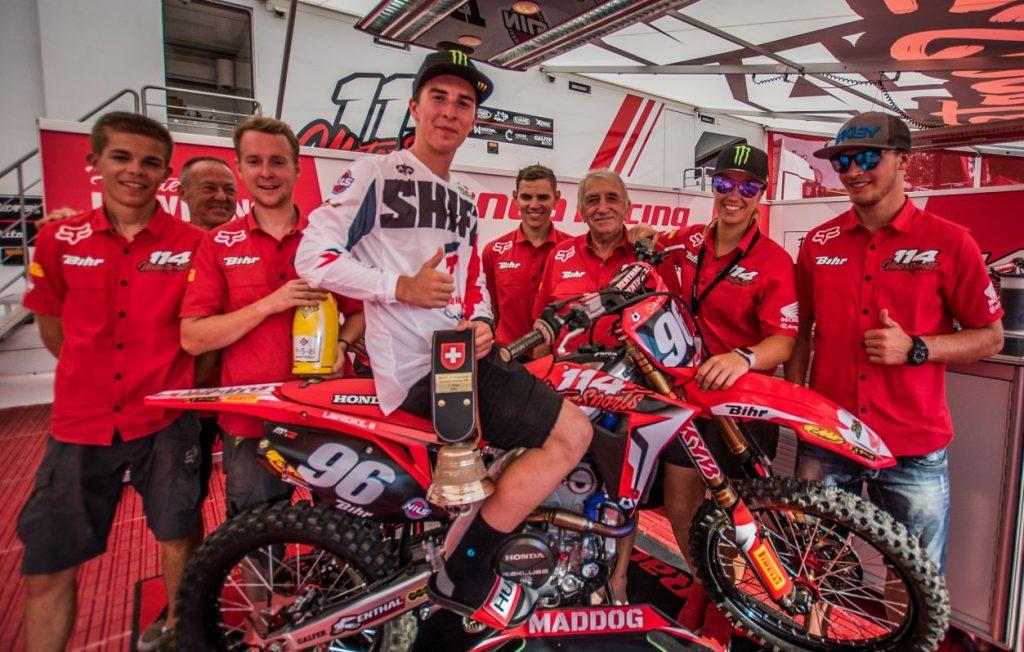 Honda 114 Motorsports - MXGP de Suisse - La Bécanerie - 3e place pour Hunter Lawrence