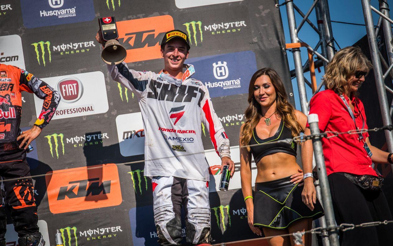 Honda 114 Motorsports - MXGP de Suisse - La Bécanerie - podium