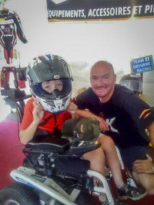 La moto, rayon de soleil pour les enfants malades avec Oxygène Racing