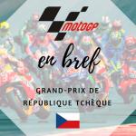 MotoGP : Dovizioso s'impose devant Lorenzo et Marquez à Brno