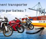 Comment transporter sa moto par bateau ?