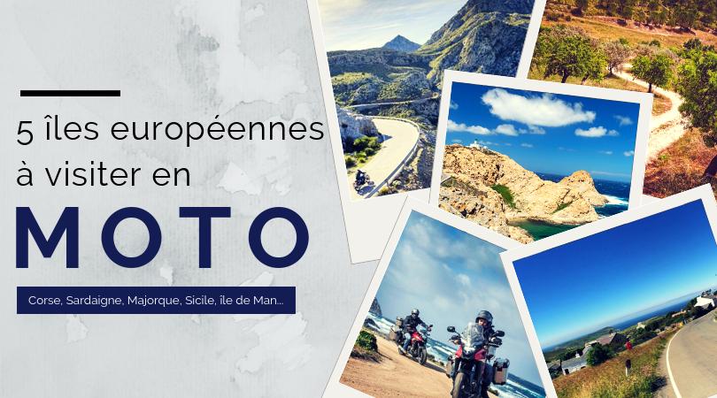 5 îles européennes à visiter en moto