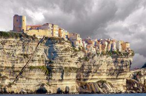 Le village de Bonifacio en Corse