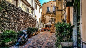 La Sicile à moto