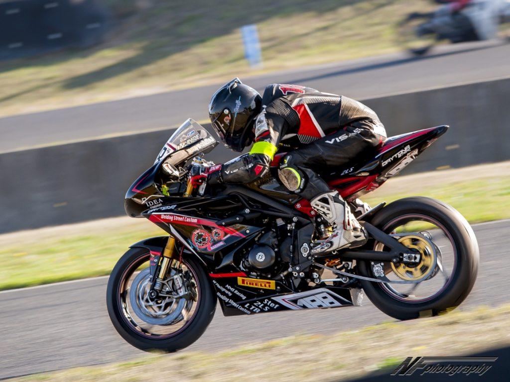 En pleine accélération on met la tête dans la bulle ©Oxygene Racing 2018