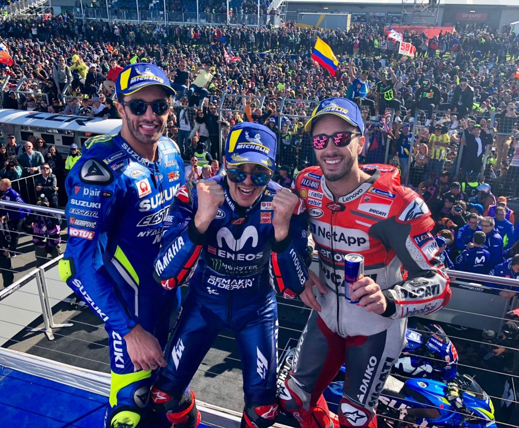MotoGP Australie 2018 - victoire de Viñales