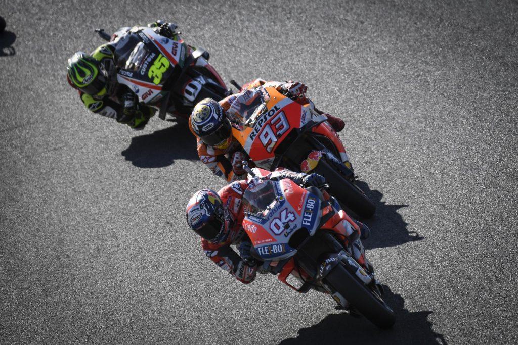 MotoGP Motegi 2018 - Dovizioso, Marquez et Crutchlow