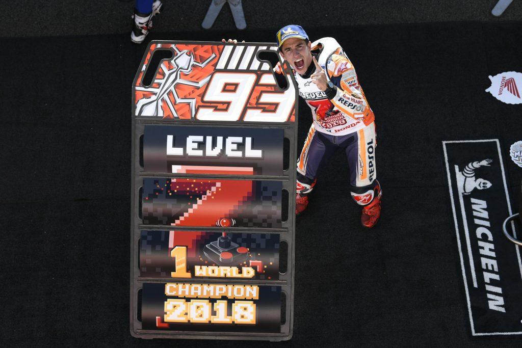 MotoGP - victoire et titre pour Marquez à Motegi