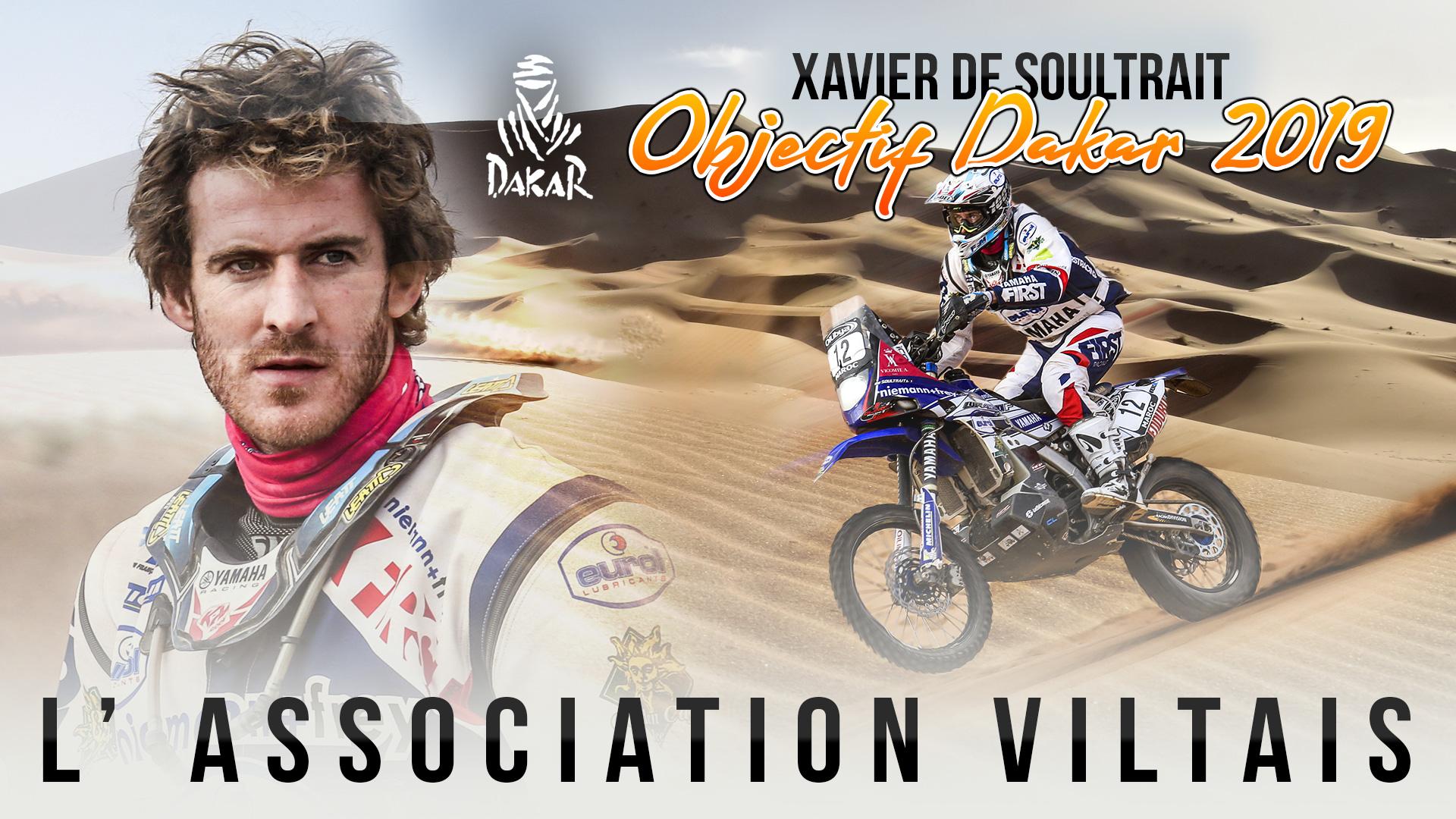Objectif Dakar 2019 avec Xavier de Soultrait - association Viltaïs