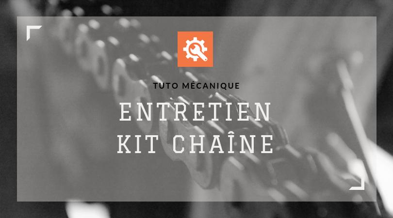 Tuto mécanique entretien kit chaîne moto