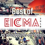 EICMA 2018 : les nouveautés présentées à Milan