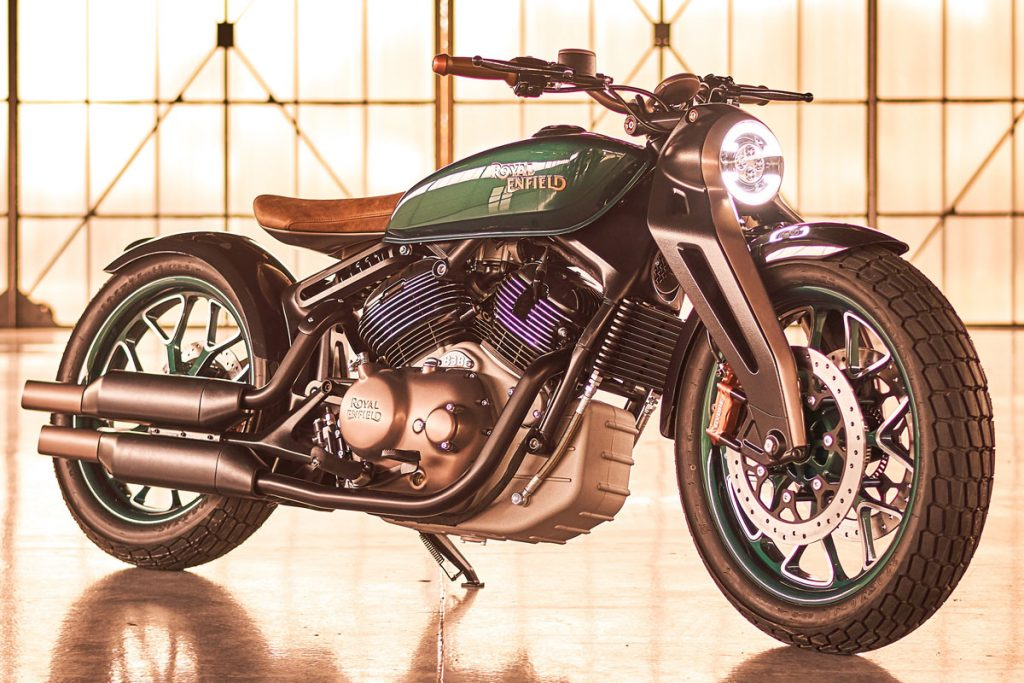 Concept Royal Enfield KX