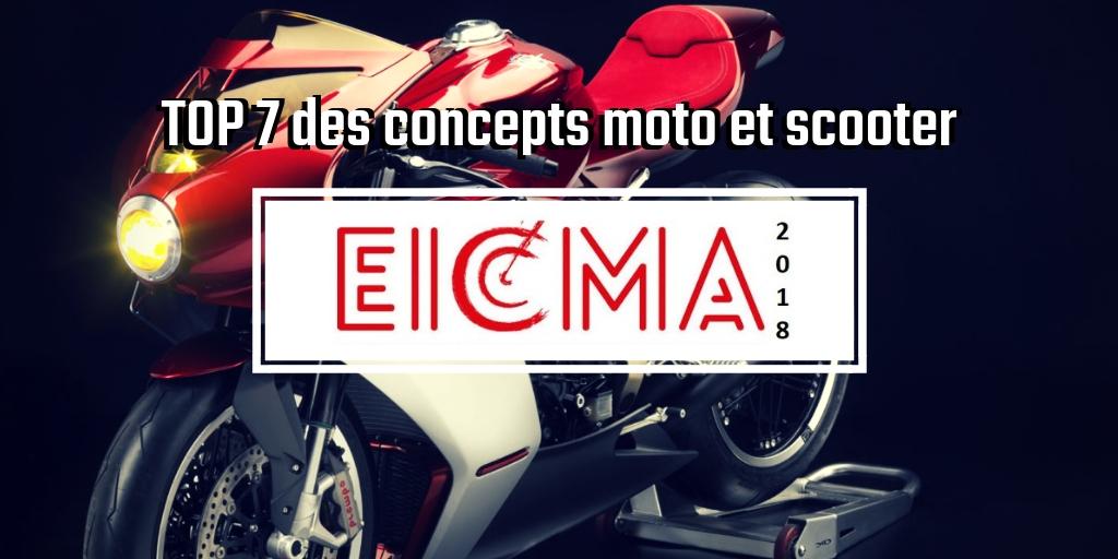 EICMA 2018 concepts moto et scooter