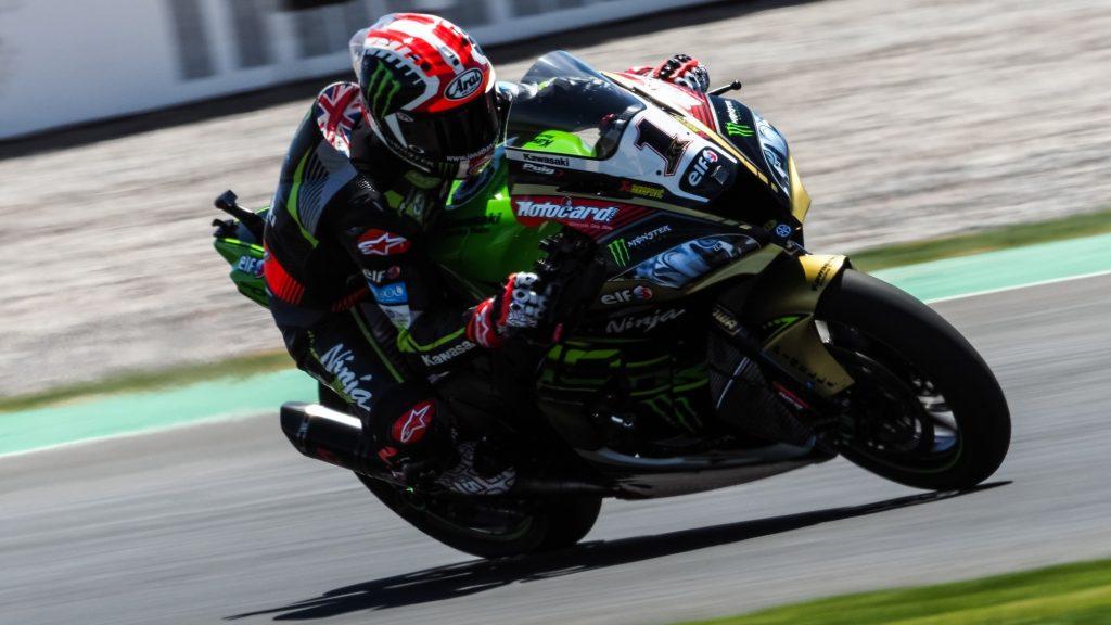 Jonathan Rea pilote Kawasaki en WSBK 2019