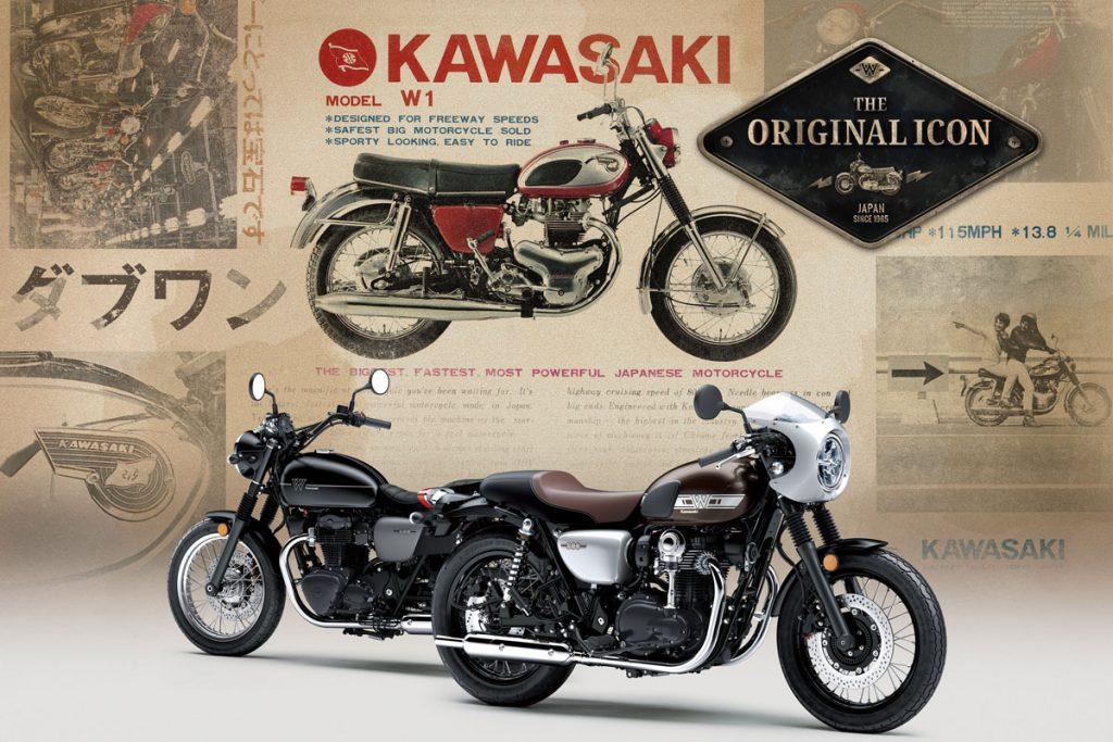 Kawasaki W800 Street et Cafe 2019