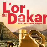 Un lingot d'or offert par Motul à l'occasion du Dakar