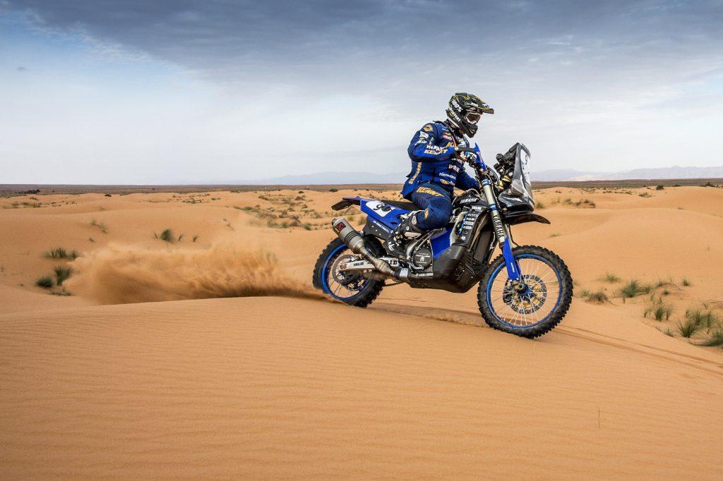 Xavier de Soultrait - rallye du Maroc 2018