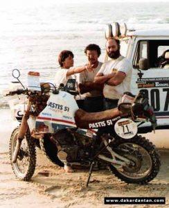 Marie Ertaud - Dakar 1983