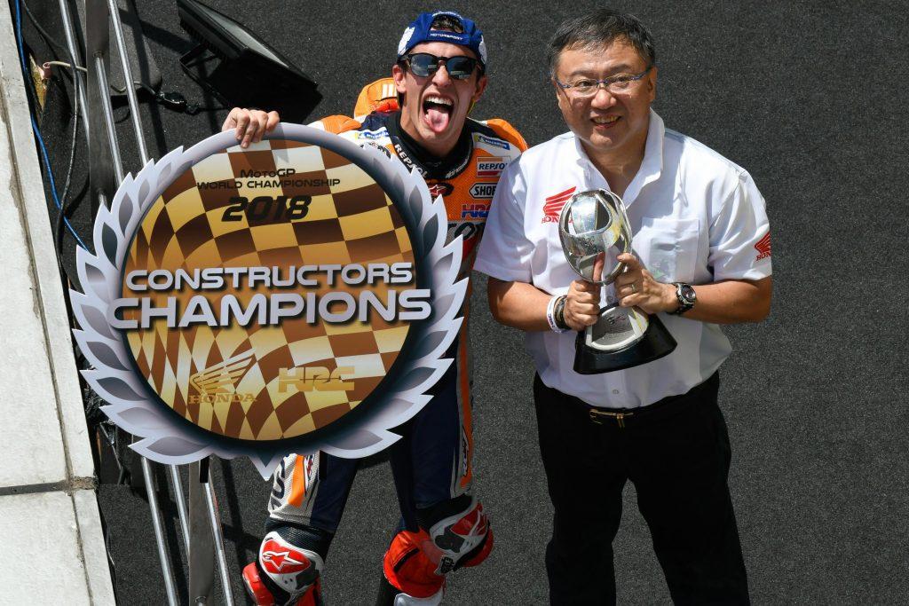 MotoGP Sepang 2018 titre constructeur pour Honda