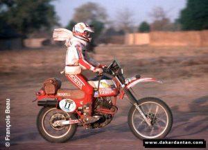 Nicole Maitrot - Dakar 1982