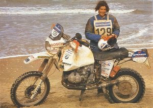 Patricia Schek - Dakar 1990