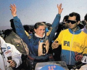 Patrizia Wolf - Dakar 1989