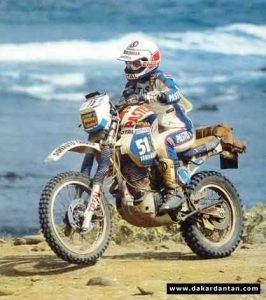 Veronique Anquetil - Dakar 1984