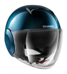 Idées cadeaux motardes Noël : casque jet Shark Swarovski