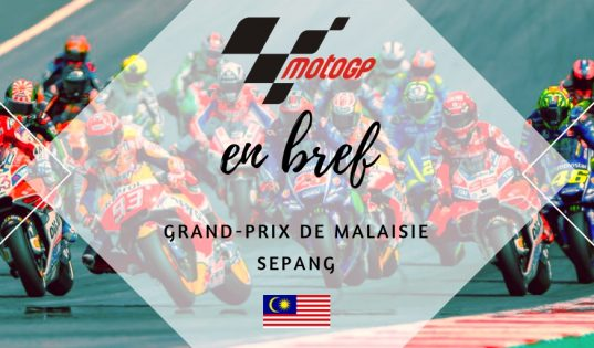 MotoGP Sepang 2018 en bref