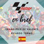 MotoGP : Fin de saison sous haute tension à Valence !