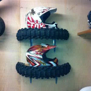 étagères en pneus recyclés
