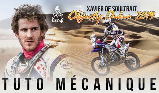 Objectif Dakar 2019 - Tuto changer un pneu avec Xavier de Soultrait