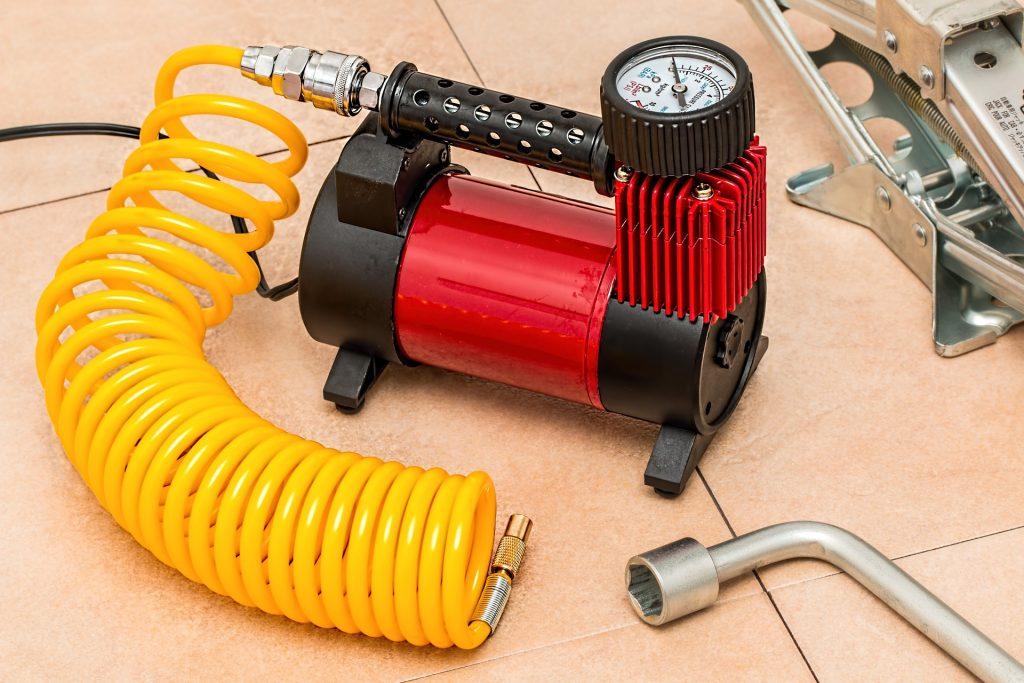 Outil pneumatique : le compresseur