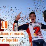 Les 10 statistiques incroyables à connaître sur le MotoGP et le Superbike