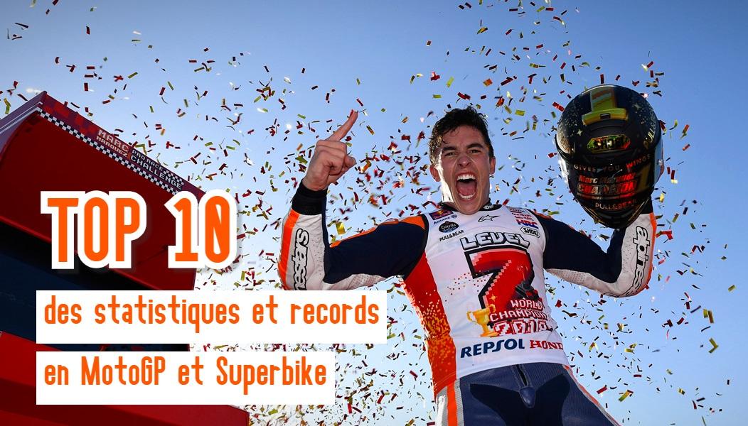 Les 10 stats incroyables à connaître sur le MotoGP et le Superbike
