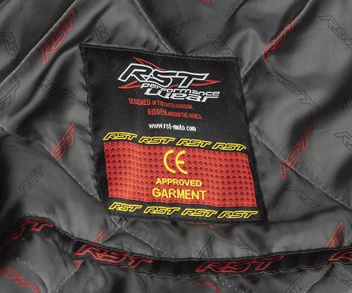 Certification CE blouson moto RST
