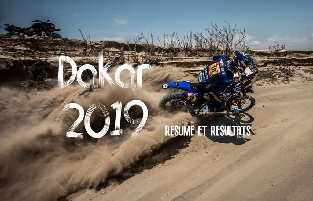 Dakar 2019 - résumé et résultats