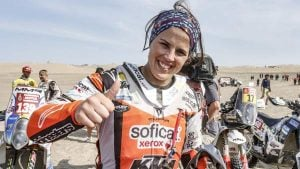 Laia Sanz Dakar 2019 - ©photo KTM