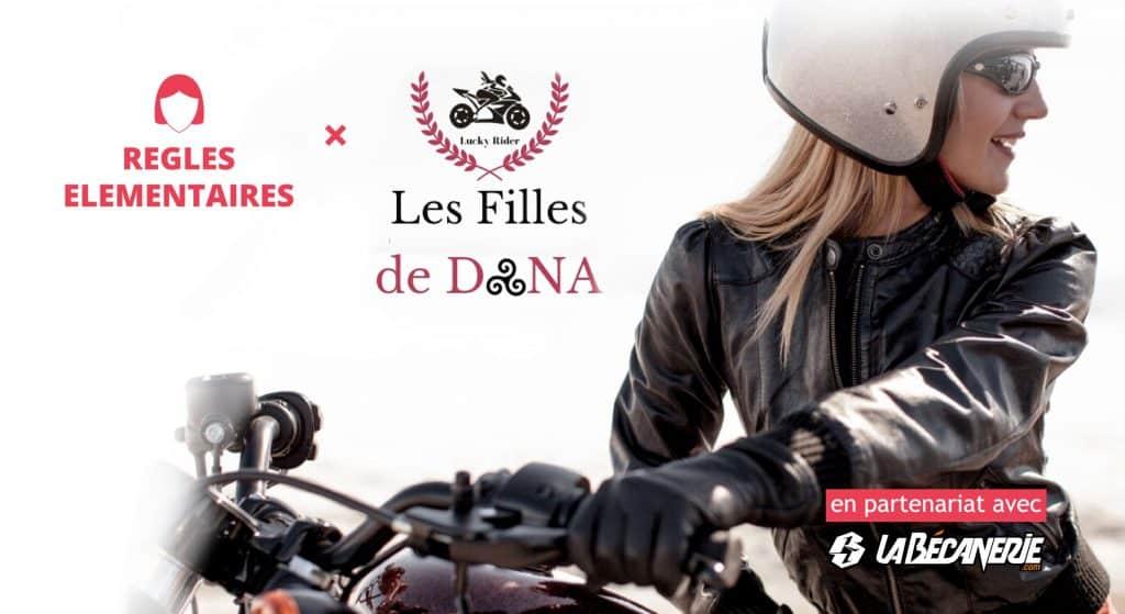 Evénement 100% motardes : Les Filles de Dana en moto