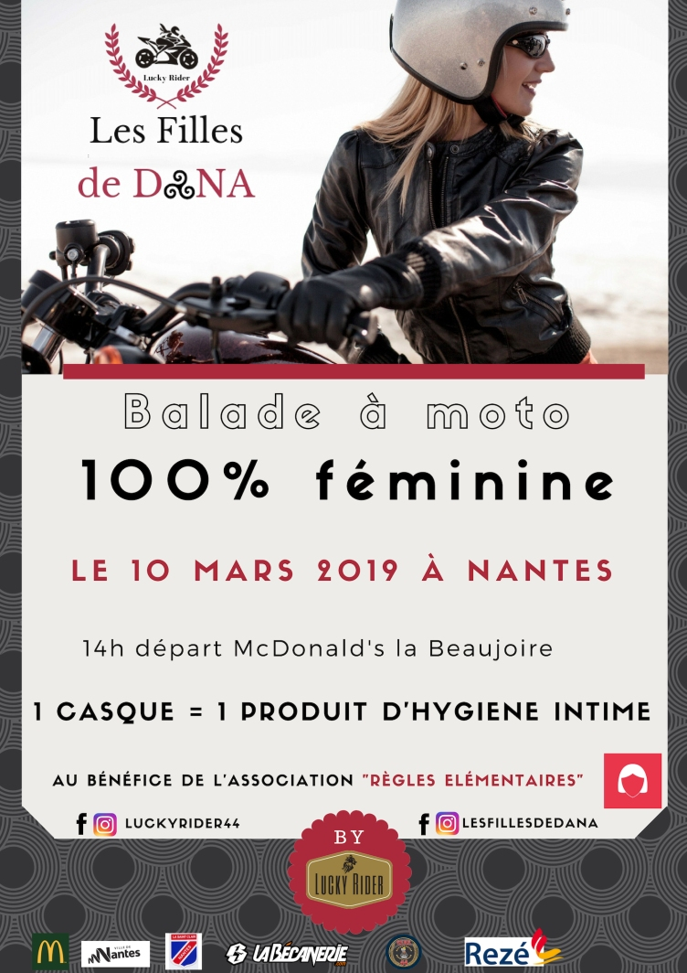 flyer Les Filles de Dana 2019