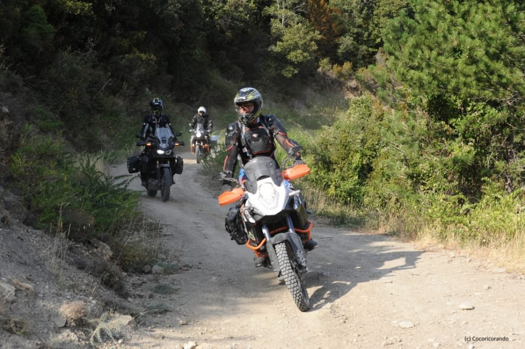 Balade moto tout-terrain ©photo Cocoricorando