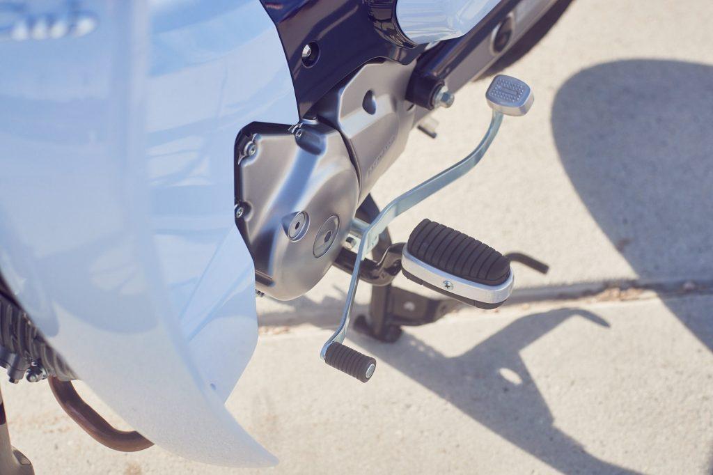 Honda Super Cub - embrayage centrifuge