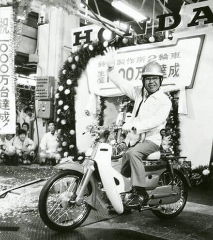 Les 10 choses à savoir sur le Honda Super Cub ©Honda