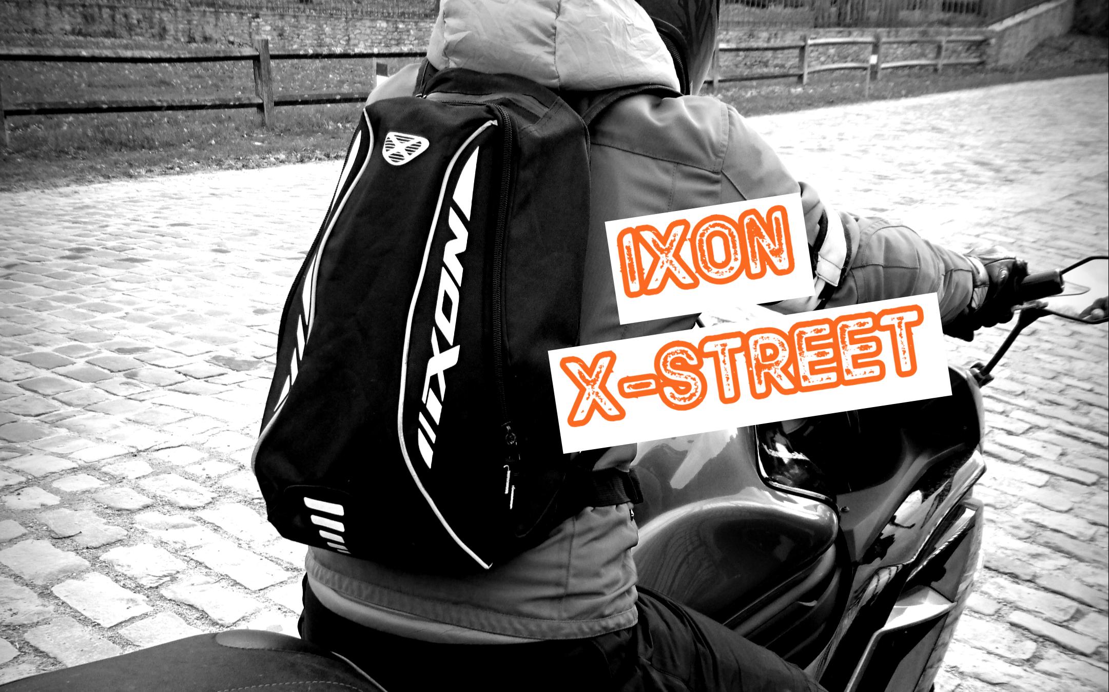 Test produit sac à dos moto IXON X-STREET